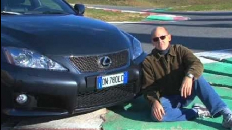 Lexus IS-F, fascino giapponese [VIDEO]