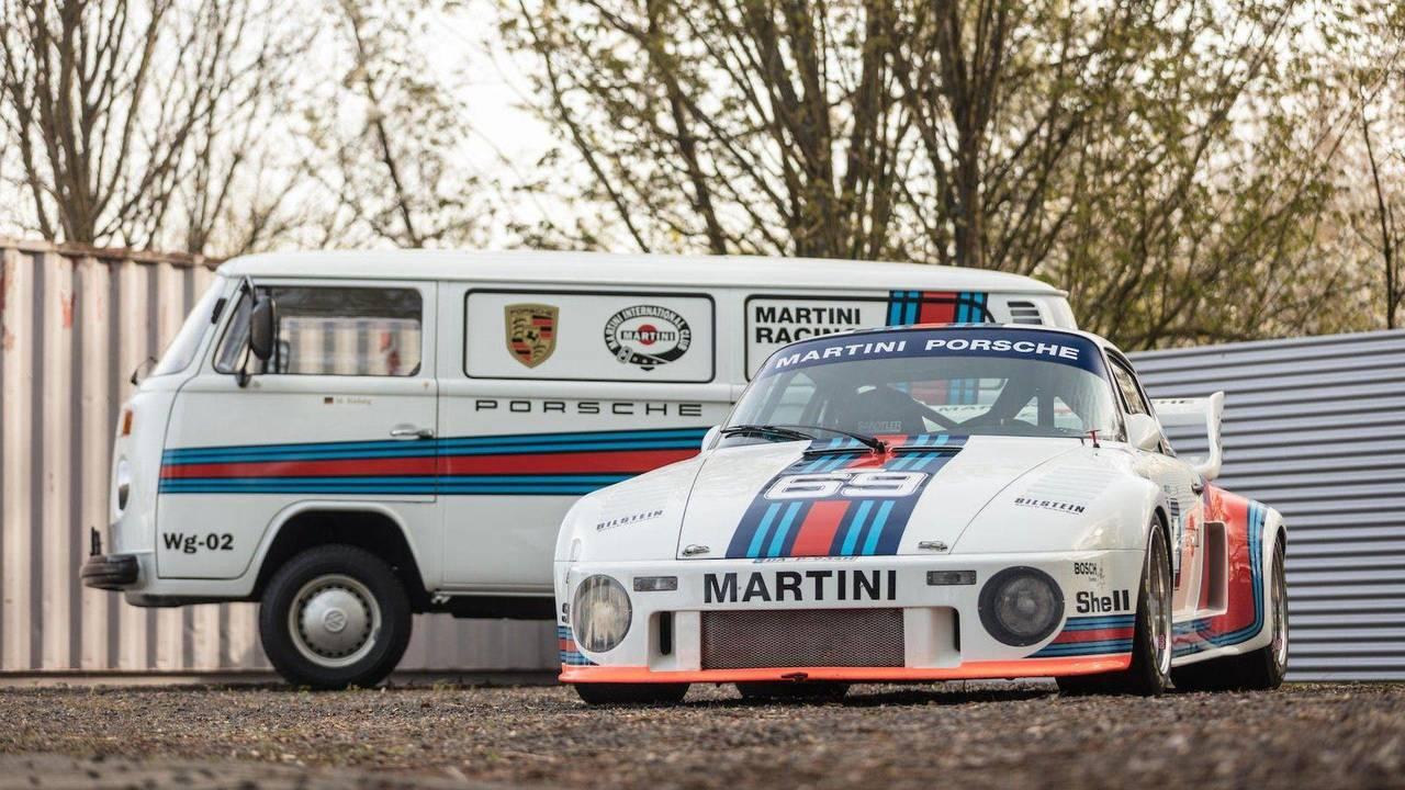 Porsche 935 de 1976 (y furgoneta de asistencia)