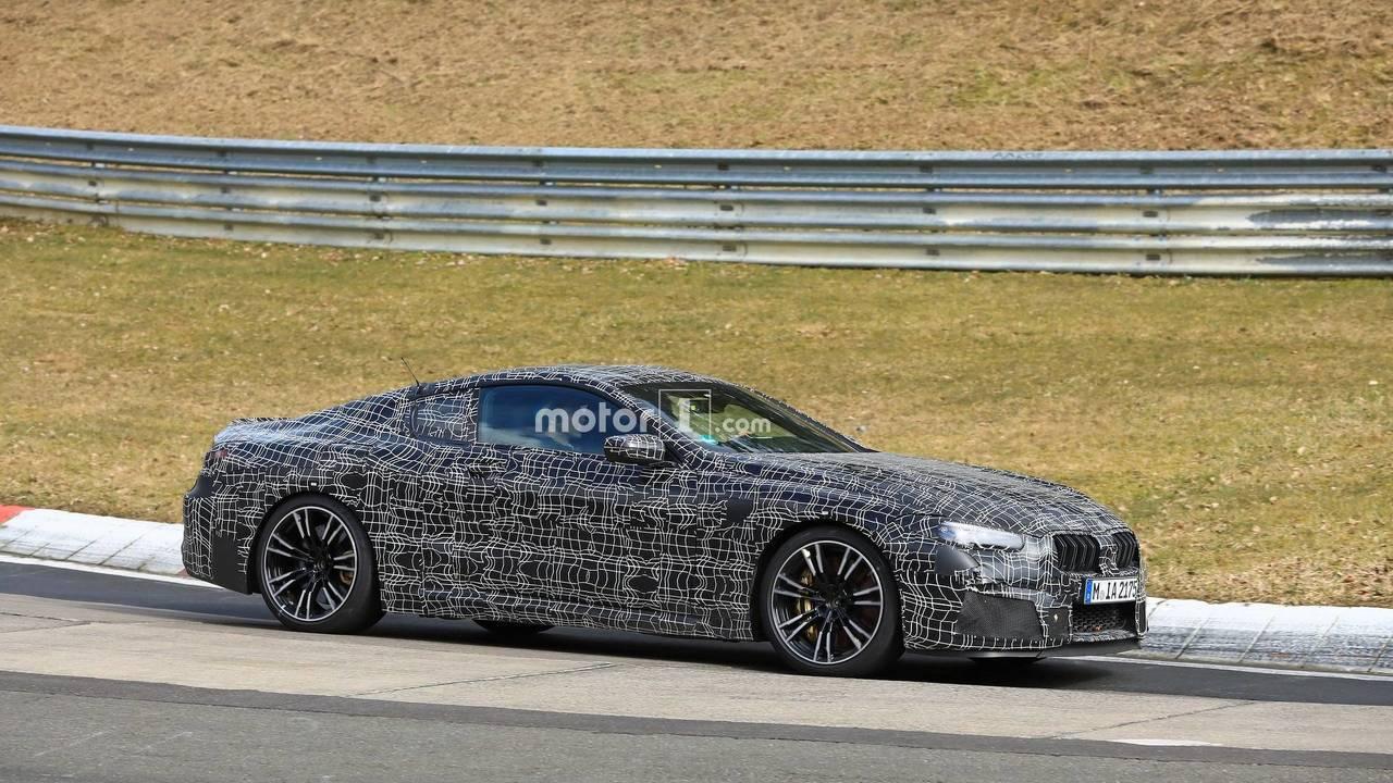 BMW M8 Coupe Nürburgring'de yakalandı