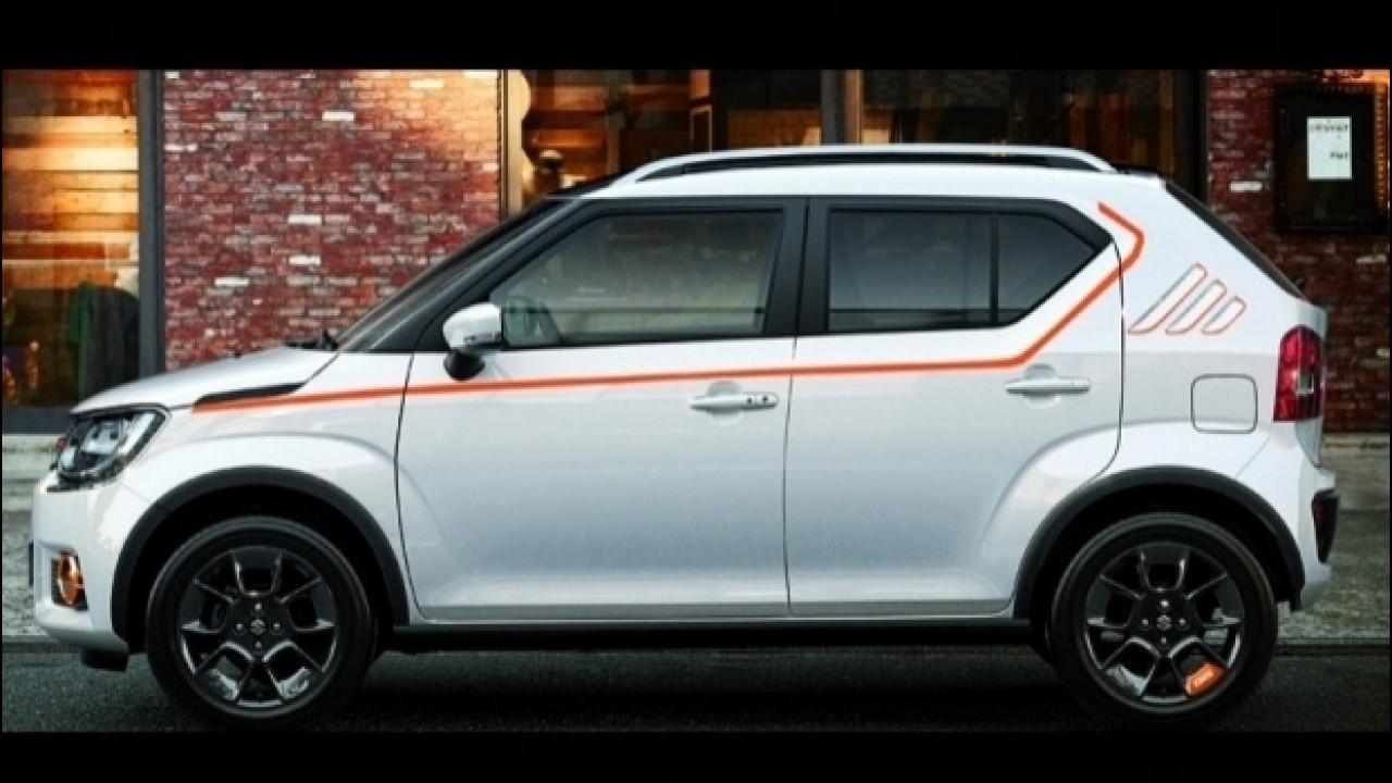 [Copertina] - Suzuki Ignis iUnique, la Web Limited Edition è ibrida e 4X4