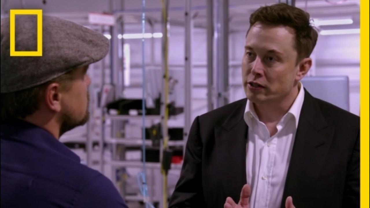 [Copertina] - Leonardo DiCaprio intervista il CEO di Tesla Elon Musk [VIDEO]