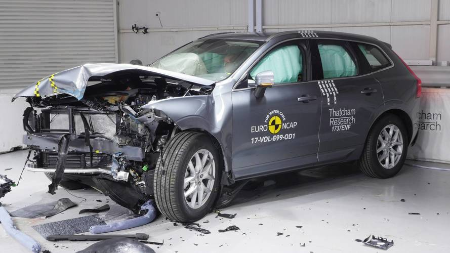 Volvo XC60 Was Euro NCAP's Safest Car Overall Tested In 2017