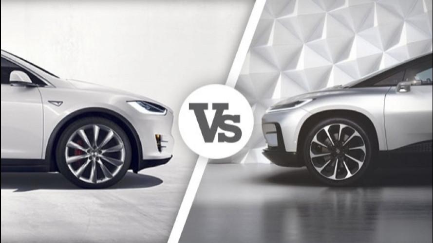 [Copertina] - Faraday Future vs Tesla, la sfida è (anche) nei numeri