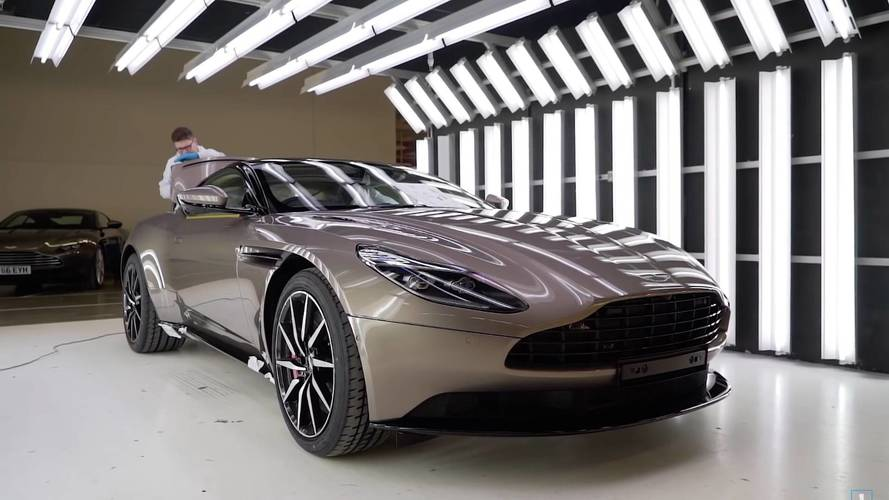 Aston Martin DB11 Factory Build