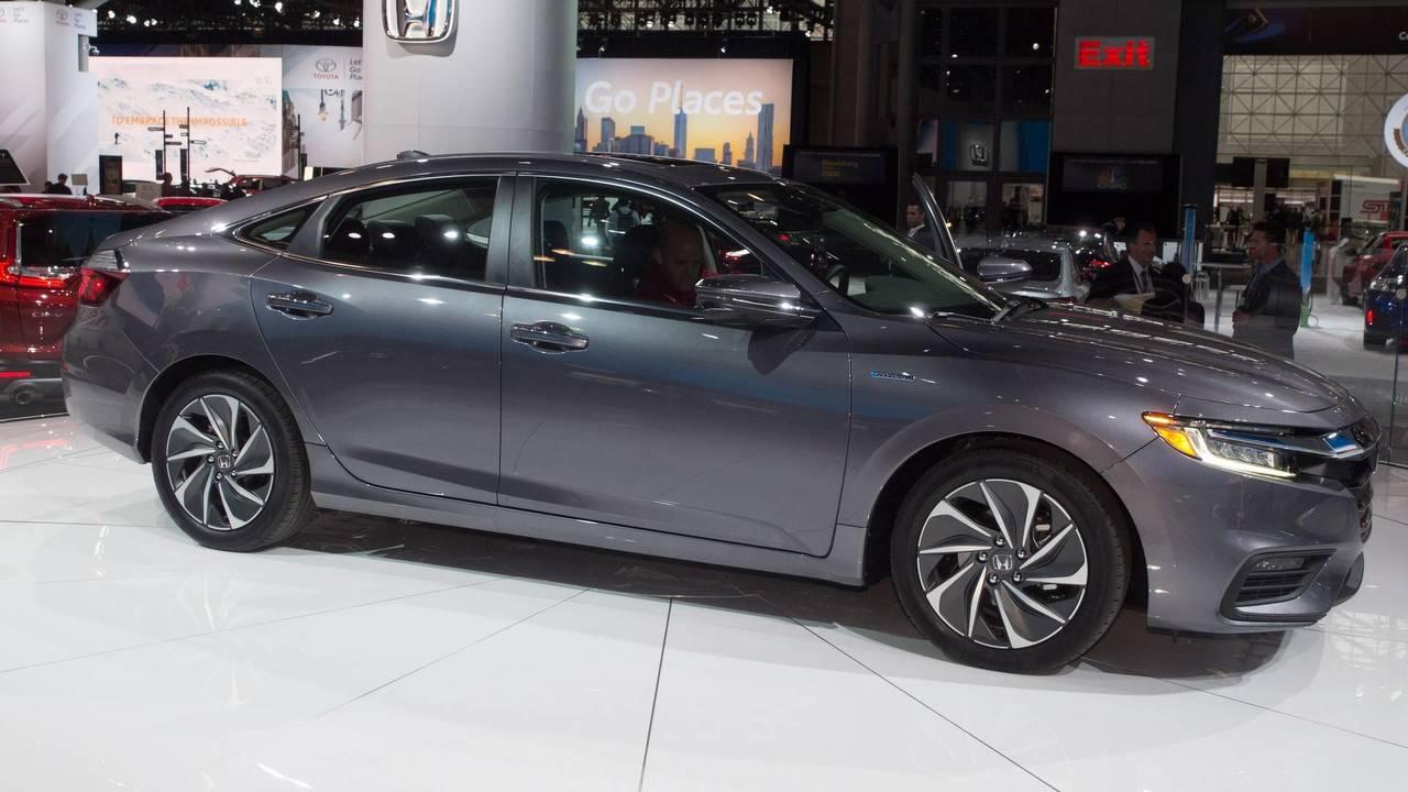 2019 Honda Insight at the 2018 New York Auto Show