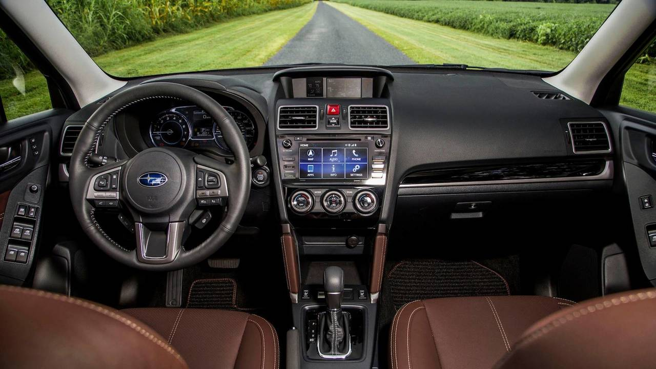 Interior 2019 Subaru Forester Side By