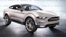 ford mustang inspired suv november