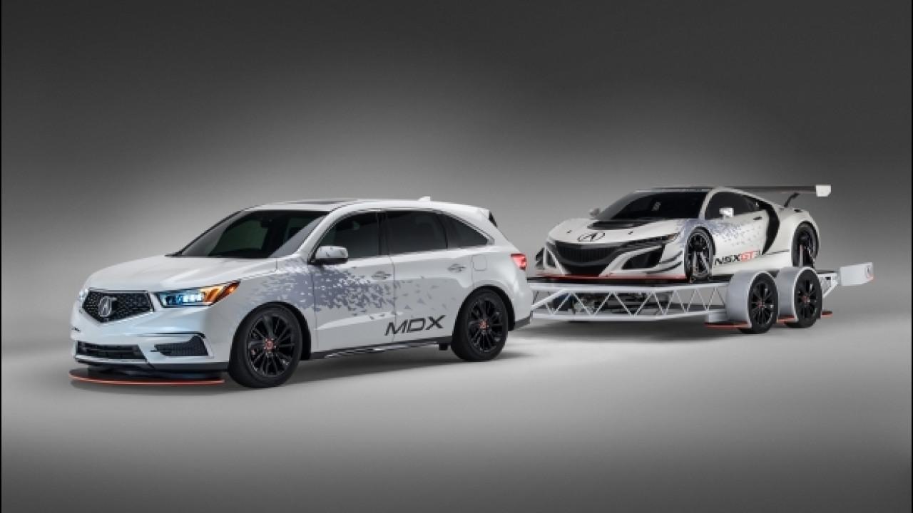 [Copertina] - Acura al SEMA, la regina per il 2016 è l'NSX GT3