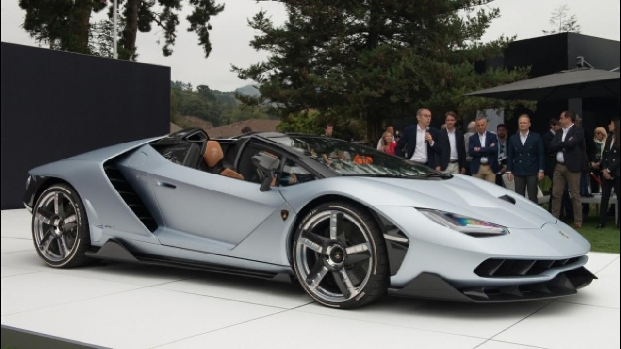 [Copertina] - Lamborghini Centenario Roadster, astenersi deboli di cuore