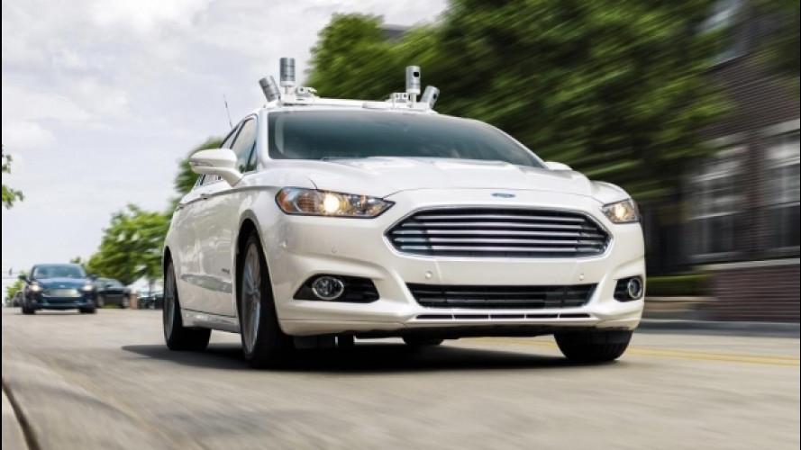 Ford, entro il 2021 guida autonoma per i viaggi condivisi