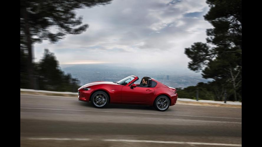 Mazda MX-5 RF, l'edizione di lancio è per pochi selezionati