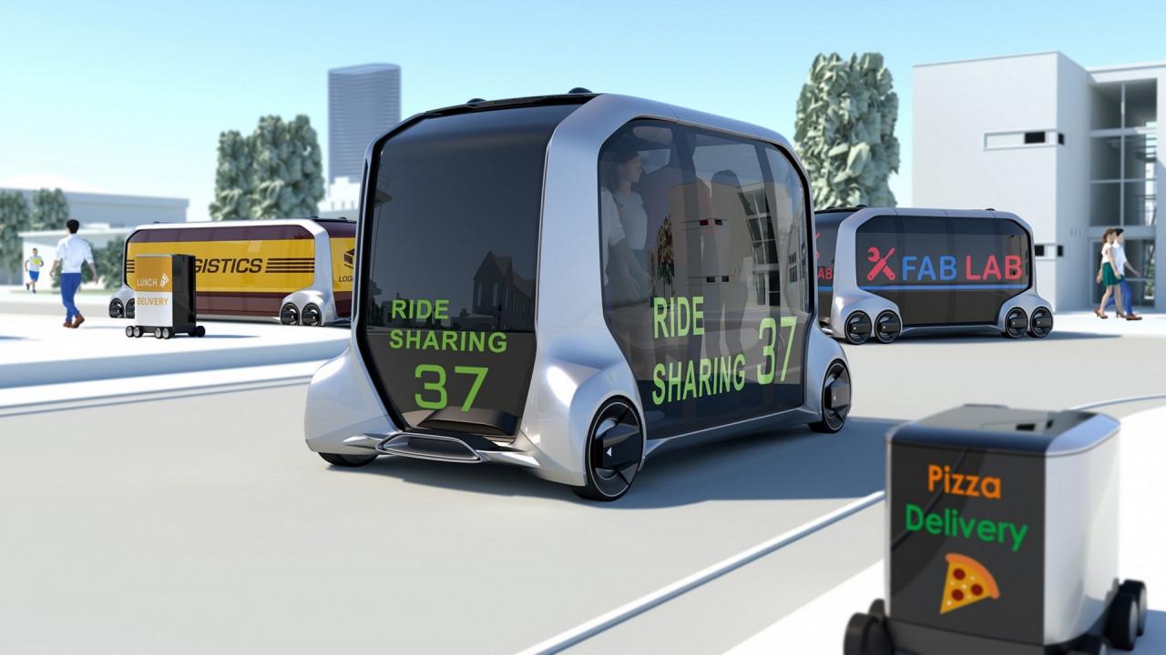 [Copertina] - Toyota e-Palette concept, il trasporto del futuro al CES