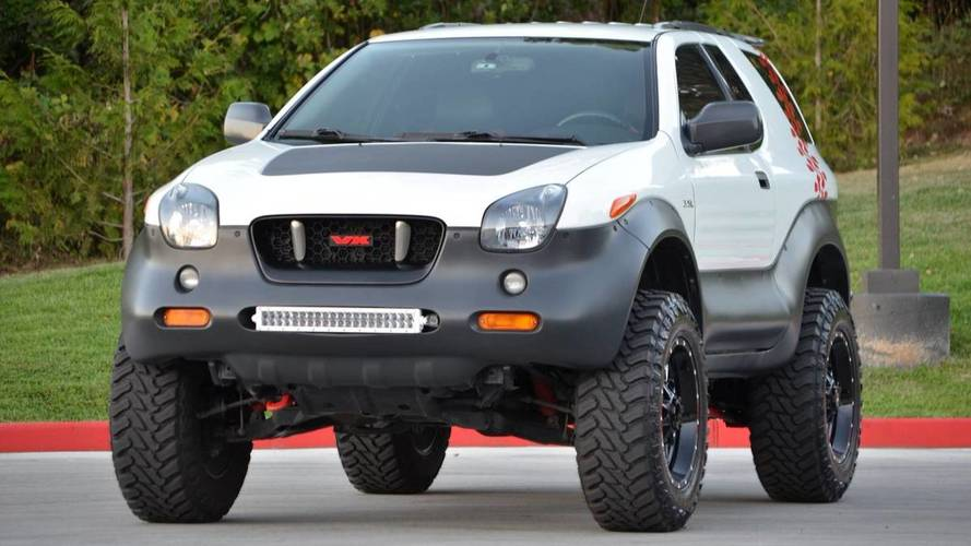Isuzu Vehicross Ironman Edition Is $13,500 Wisely Spent