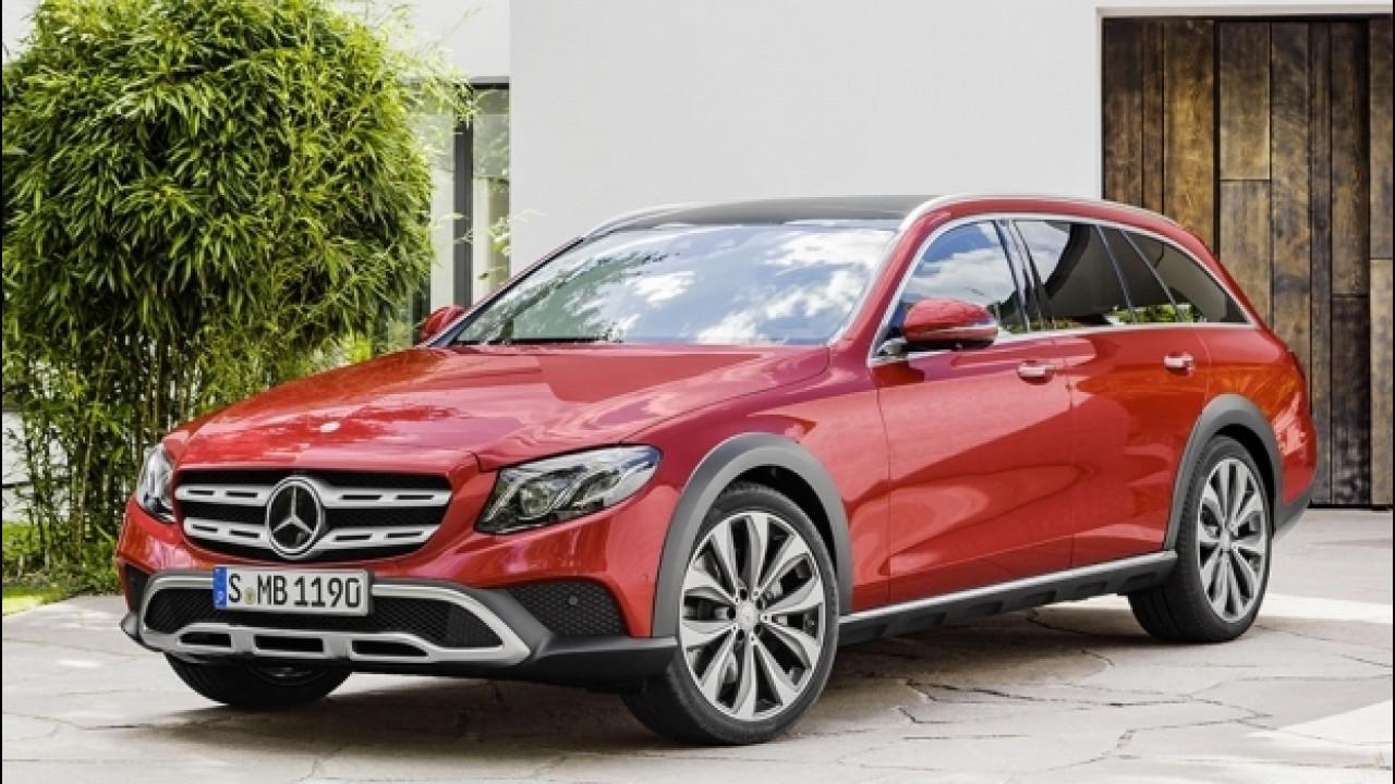 [Copertina] - Mercedes Classe E All-Terrain, il lusso si infanga