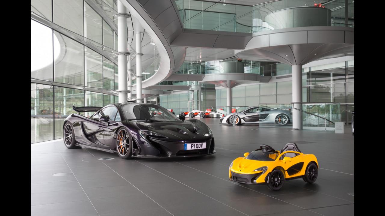 La McLaren P1 da 400 euro 001