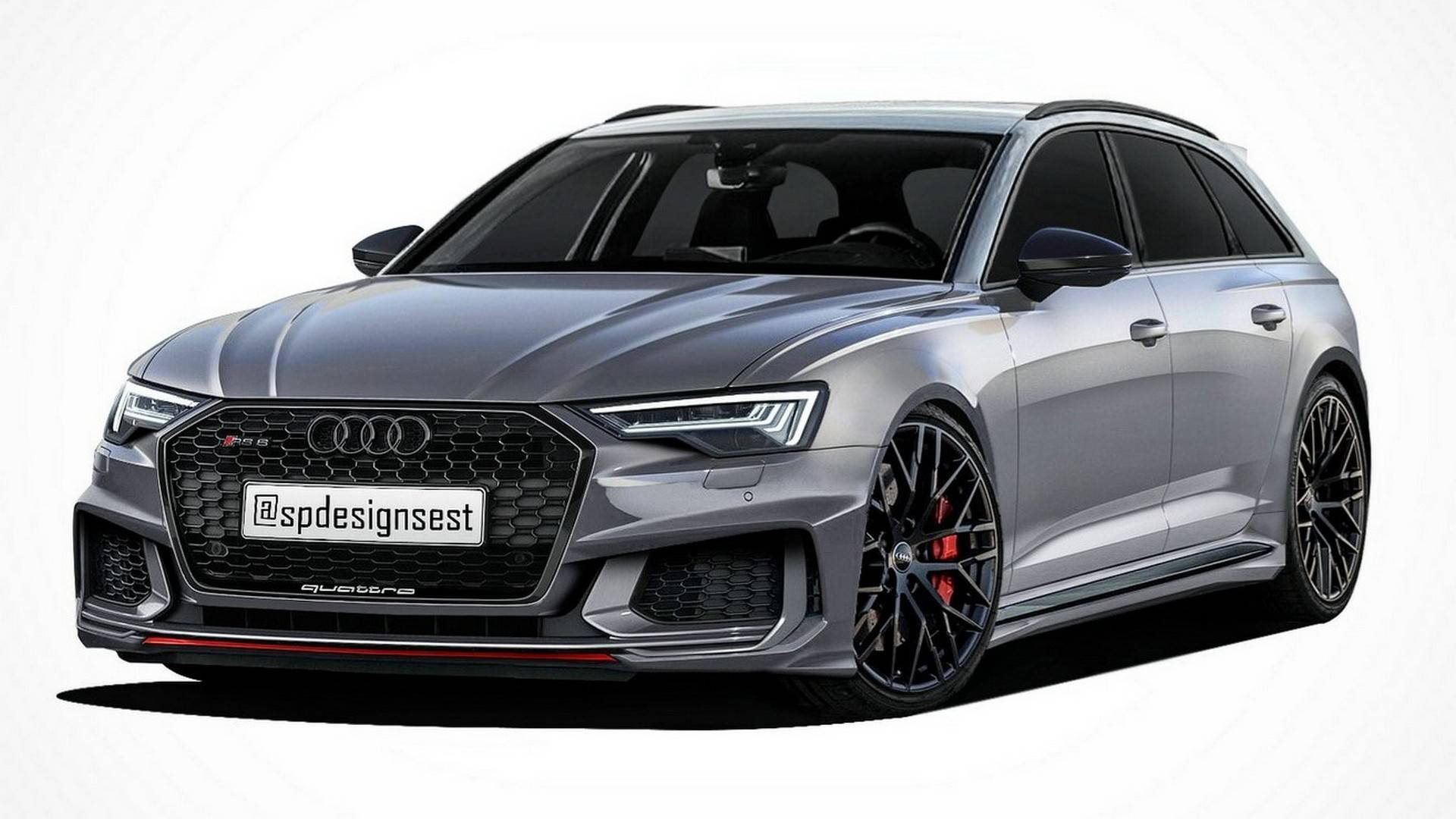 Audi A6 Avant Allroad Rs6 Already Exist In Photoshop