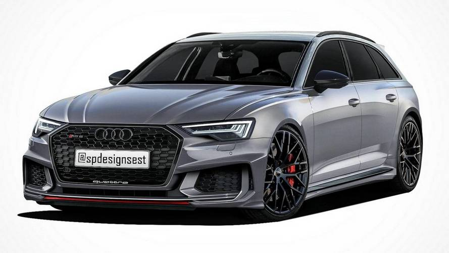 2019 Audi RS6 rendering
