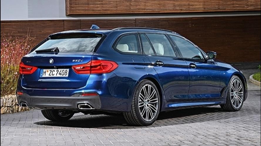 Nuova BMW Serie 5 Touring, evoluzione familiare [VIDEO]
