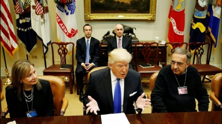 [Copertina] - Trump fa la felicità di FCA, Ford e General Motors