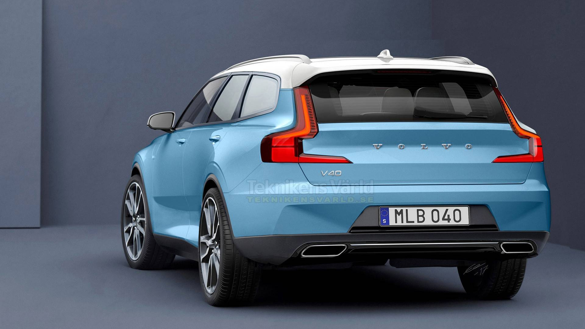 volvo v40 2019 station wagon