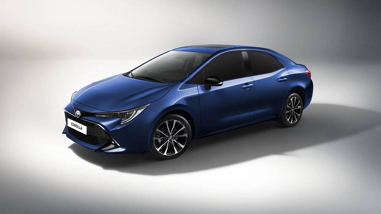2020 Toyota Corolla render