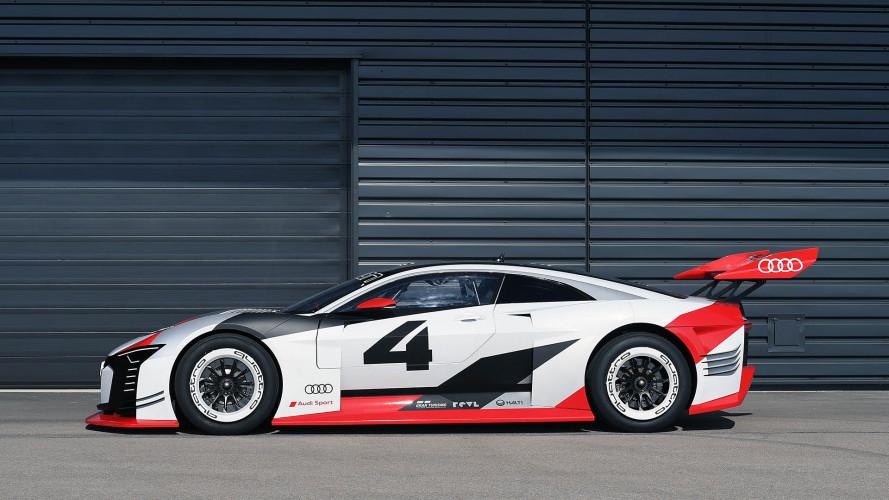 Audi e-tron Vision Gran Turismo: así es el 'race taxi' de la Formula E
