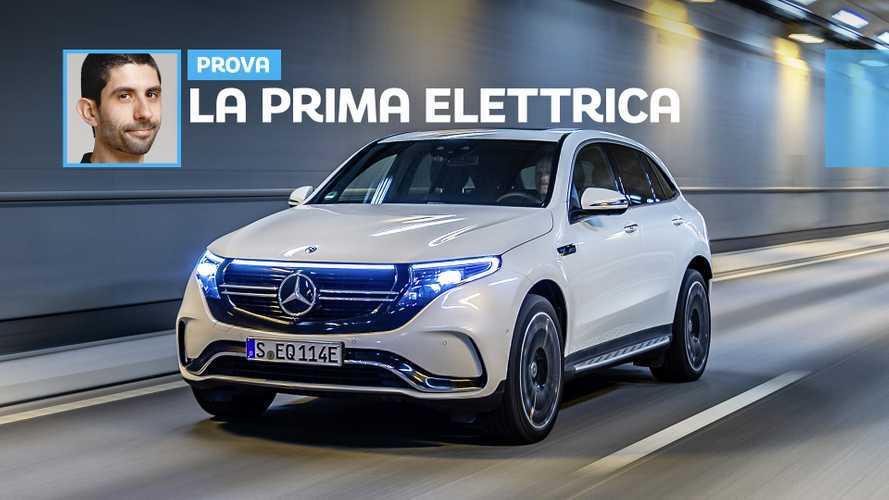Mercedes EQC, la prova della prima Stella elettrica