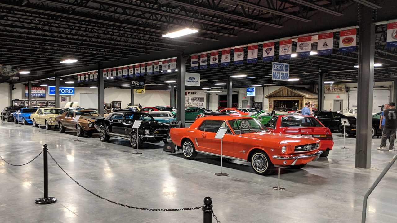 Mustang Owners Museum Grand Opening