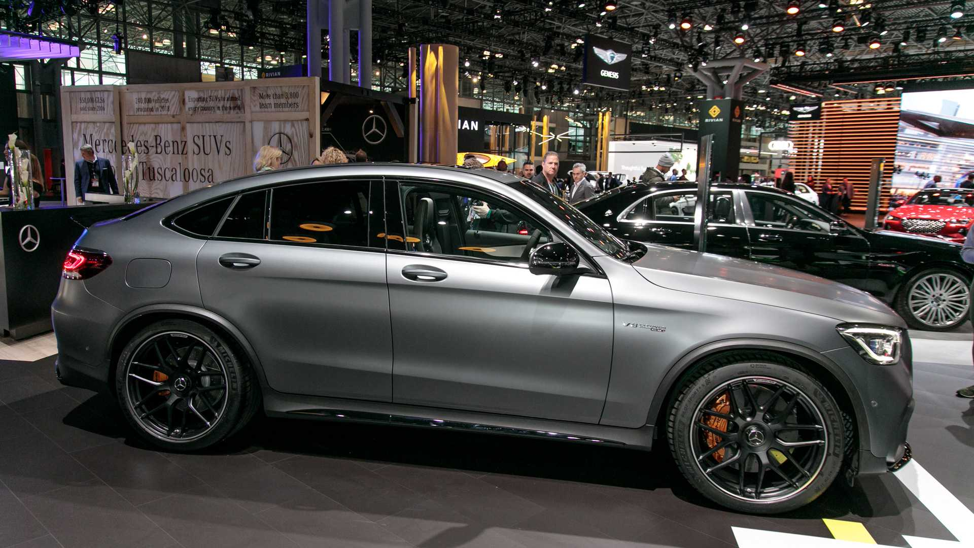 Mercedes Amg Glc 63 63 Coupe Introduce Their Ample Power