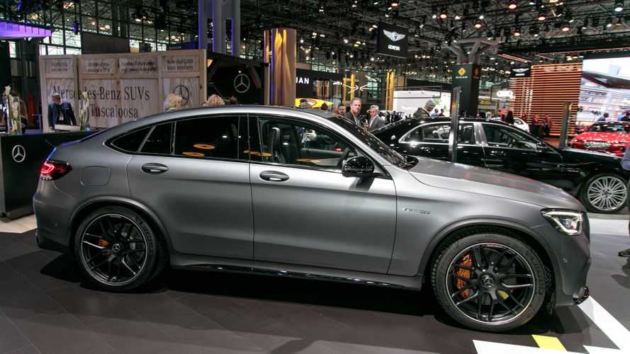 Mercedes-AMG GLC 63, 63 Coupe Introduce Their Ample Power [UPDATE]