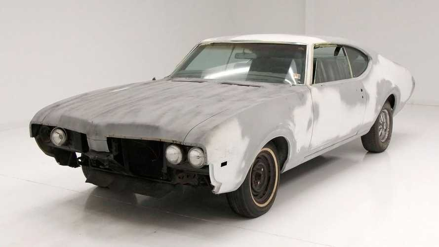 1969 Oldsmobile Cutlass S Is A Great Project Car