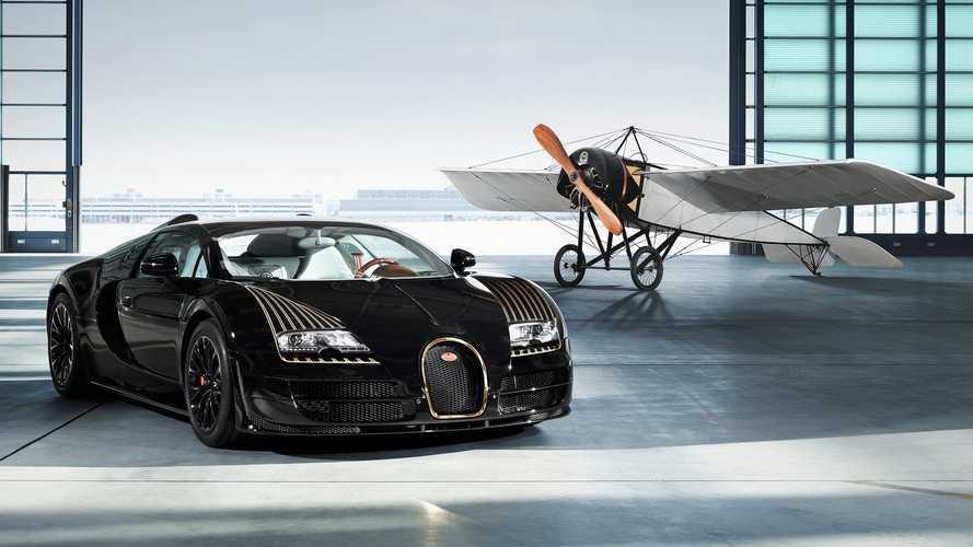 DIAPORAMA - Toutes les éditions spéciales de la Bugatti Veyron