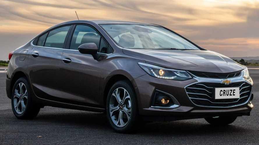 Chevrolet Cruze 2020 chega com mudança visual e internet 4G a bordo