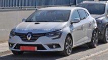 Renault Megane Hybrid Spy Photos