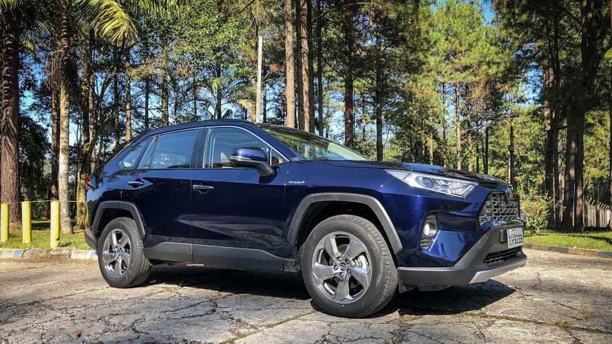 SUVs mais vendidos: Toyota RAV4 já emplaca mais que Kia Sportage