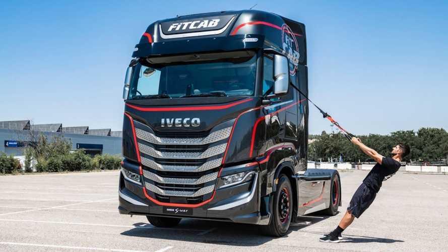 Iveco'nun yeni modeli, dört tekerlekli bir spor salonu olacak