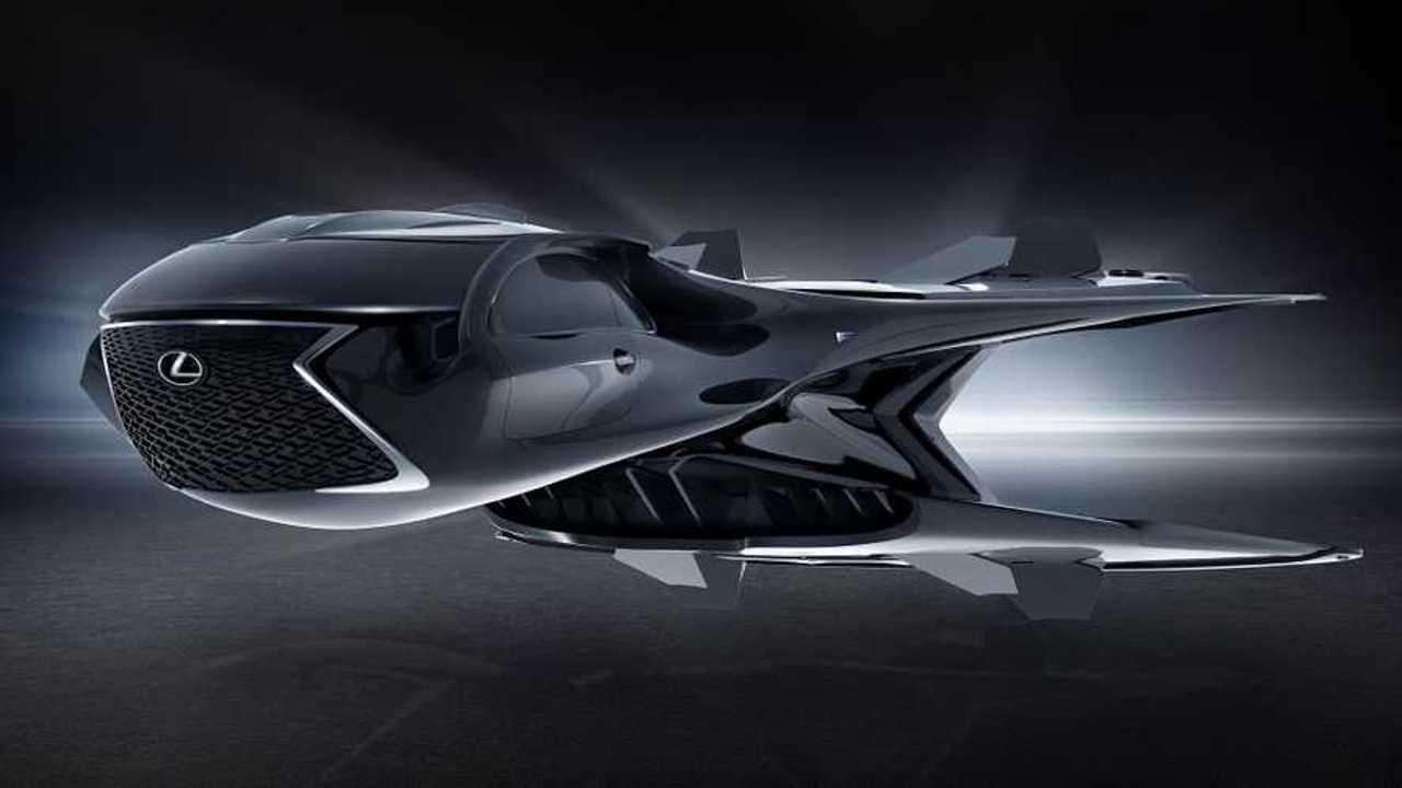 Motor City Lexus >> Lexus debuts alien-looking spaceship for new MIB movie