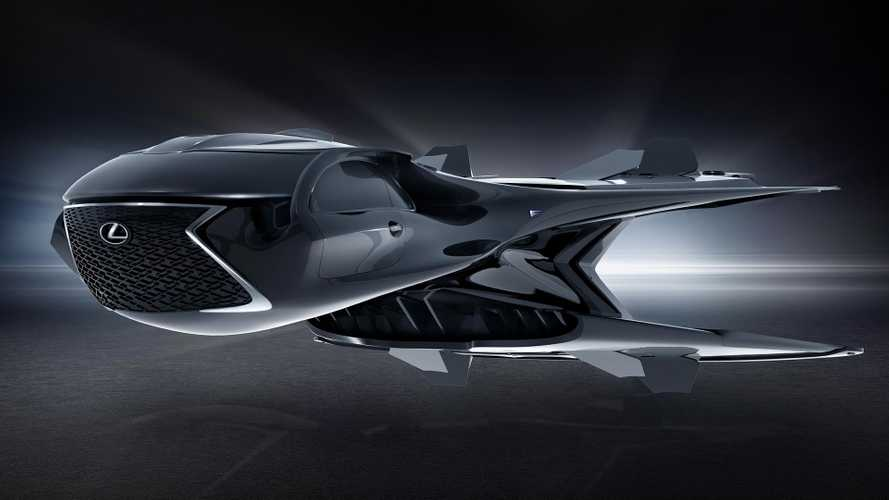 Lexus debuts alien-looking spaceship for new MIB movie