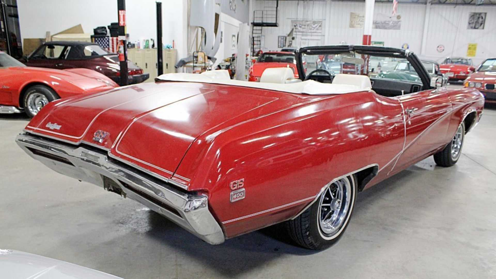 """[""""1969 Buick Gran Sport 400 Convertible Proves Cadillac Doesn't Always Win""""]"""