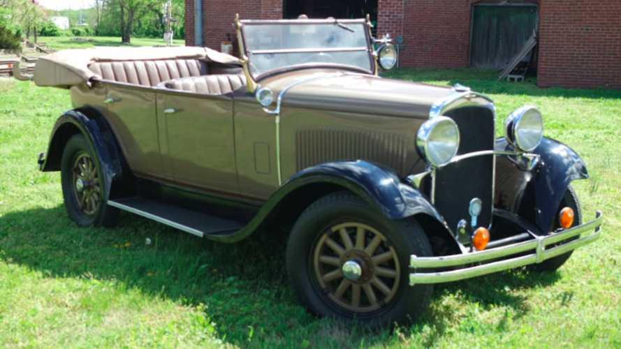 Step Back In Time With This 1929 Dodge Brothers DA Six Phaeton