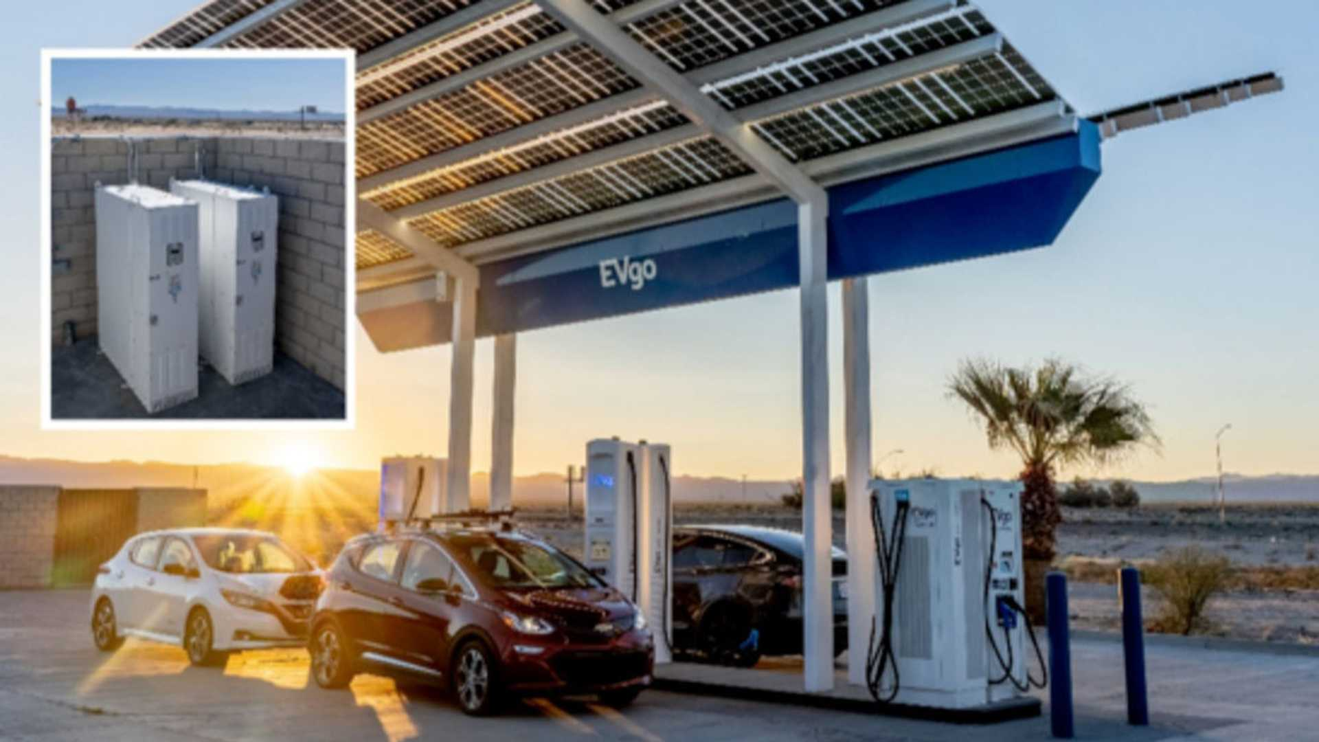EVgo: 14 ESS Installed Or Under Construction At Charging Stations