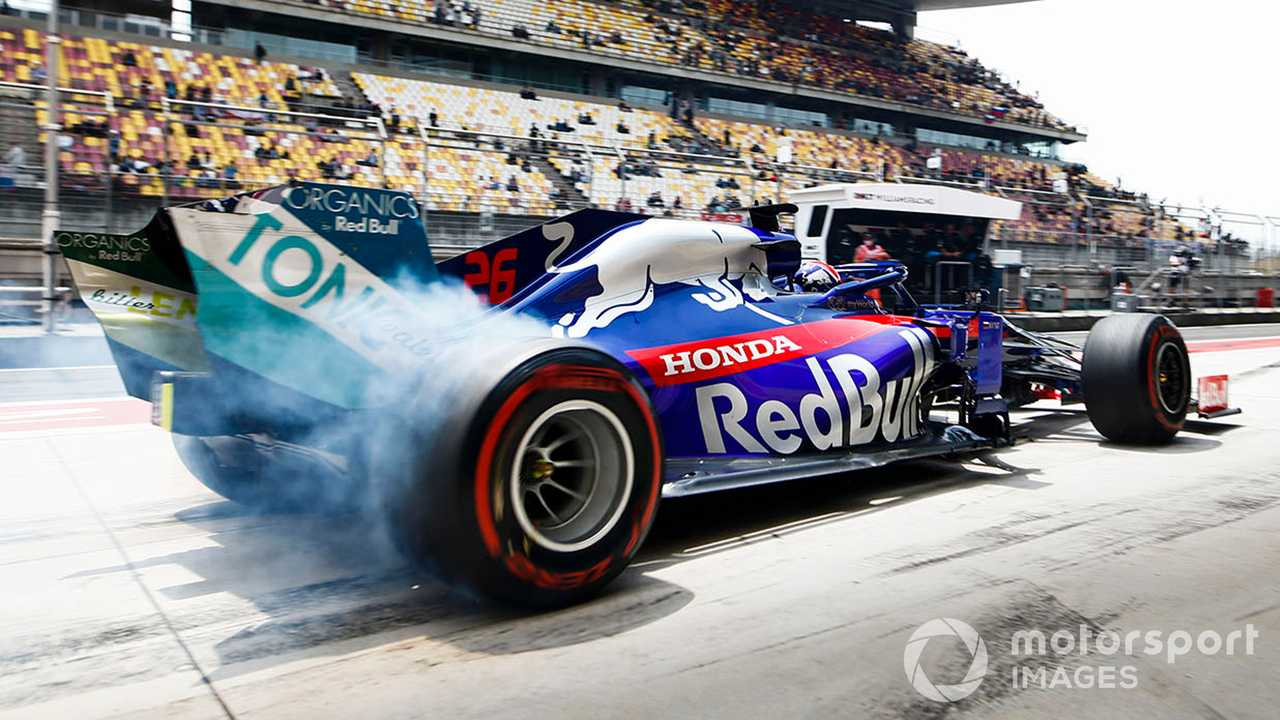 Daniil Kvyat at Chinese GP 2019