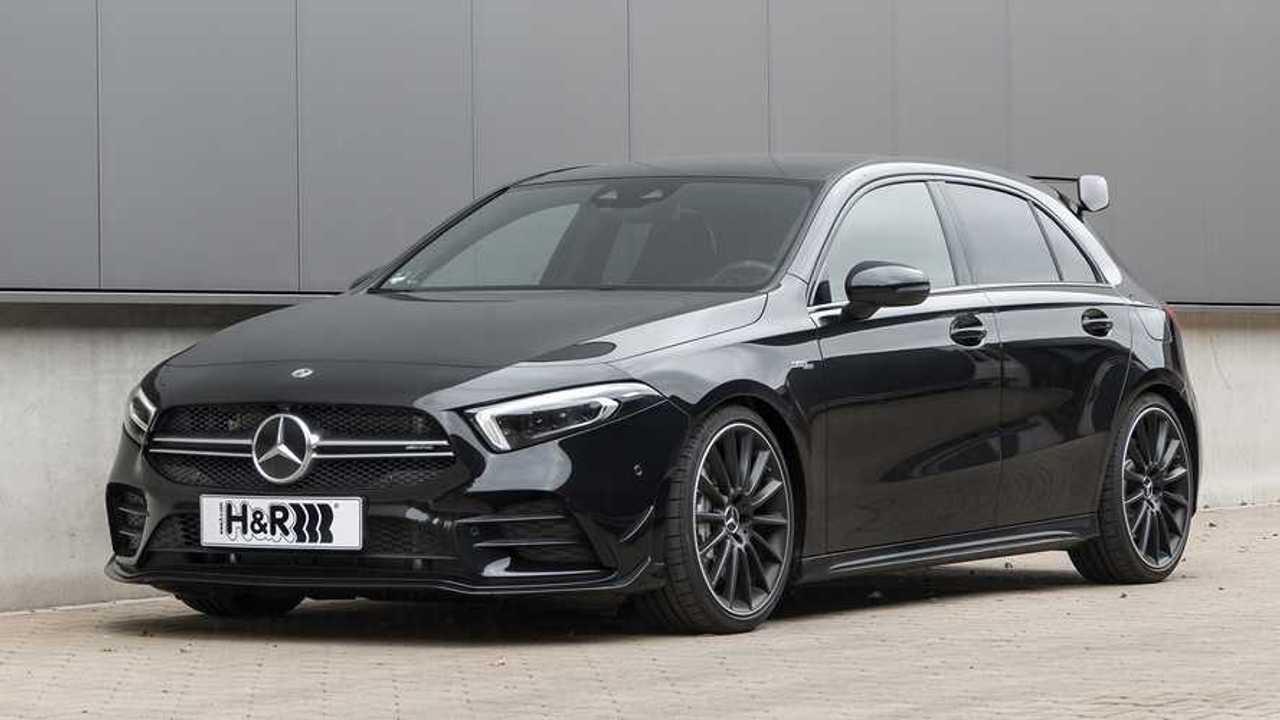 H&R-Sportfedern für den Mercedes-AMG A35