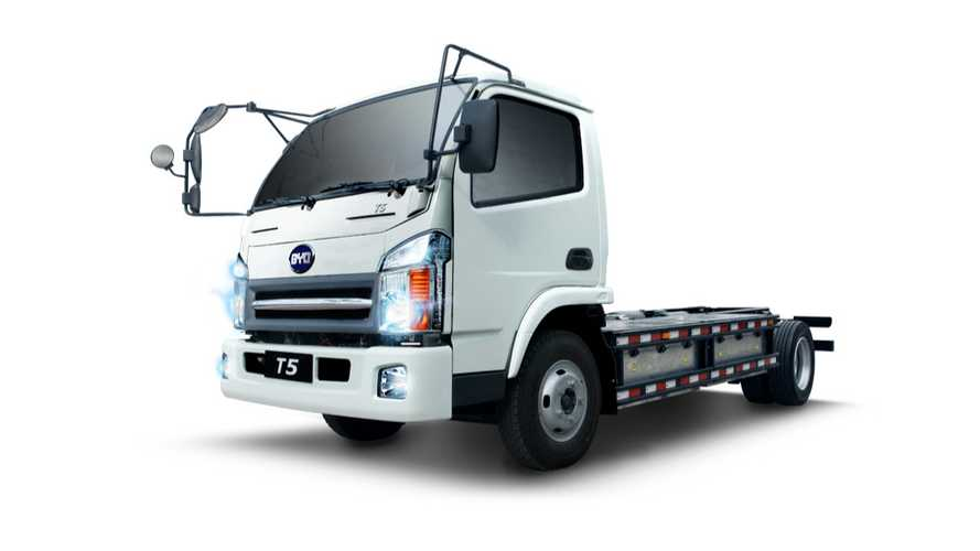 BYD To Sell Electric Trucks In Australia