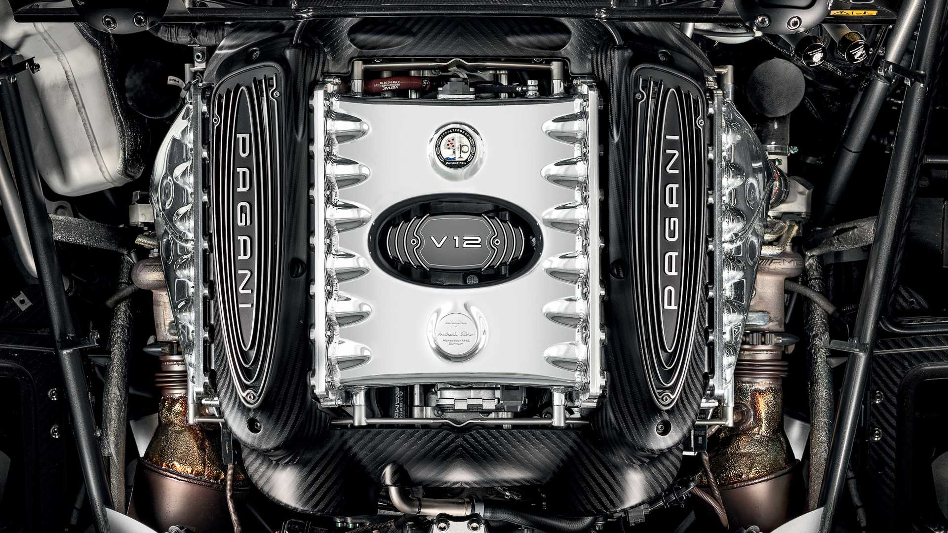 Pagani To Use Updated Amg Twin Turbo V12 Engine Until 2026