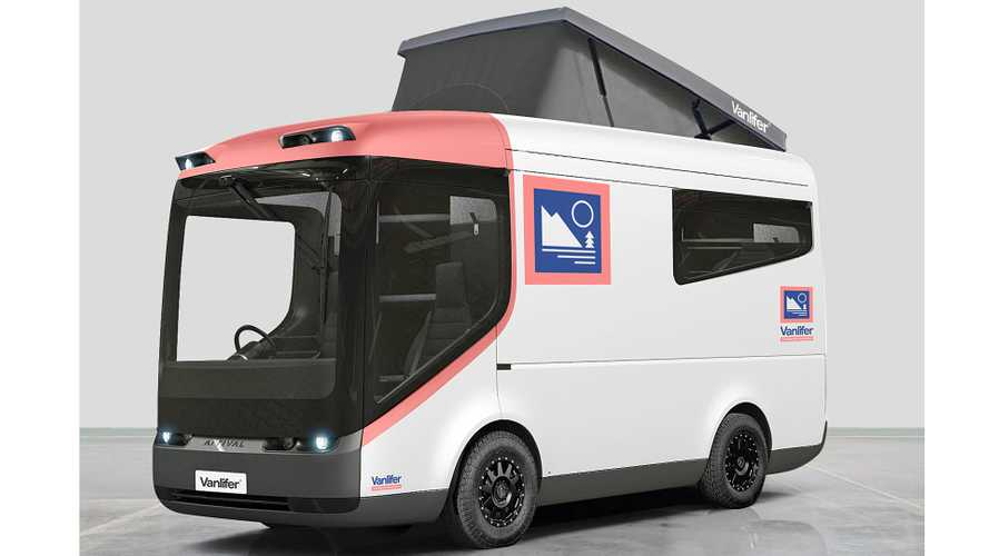 EV Camper Rendering Based On UK Delivery Truck Previews Future Vanlife