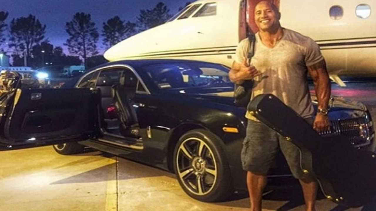 Check Out Dwayne The Rock Johnson's Car Collection