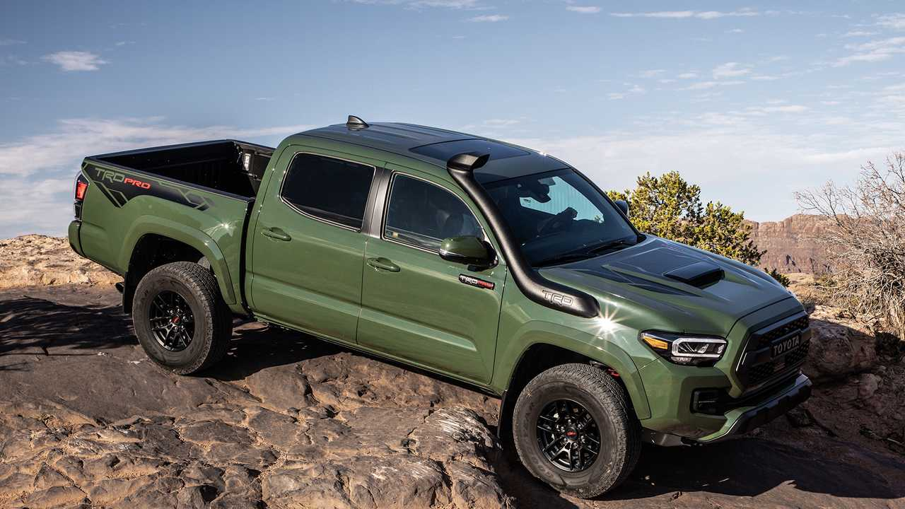 2020 Toyota Tacoma TRD Pro Sees $1,000 Price Hike Over