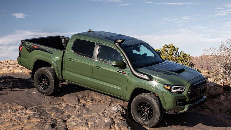 2020 Toyota Tacoma TRD Pro Sees $1,000 Price Hike Over 2019 Model