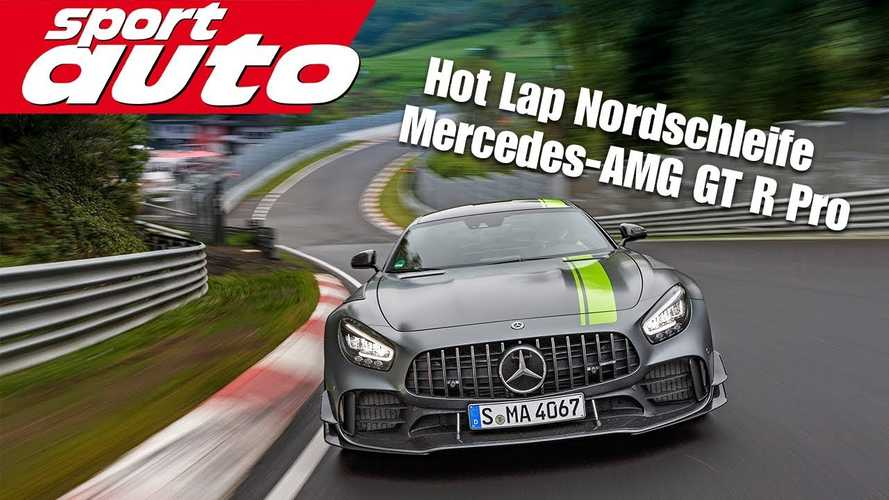 See the Mercedes-AMG GT R Pro lap the 'Ring in 7:06 minutes